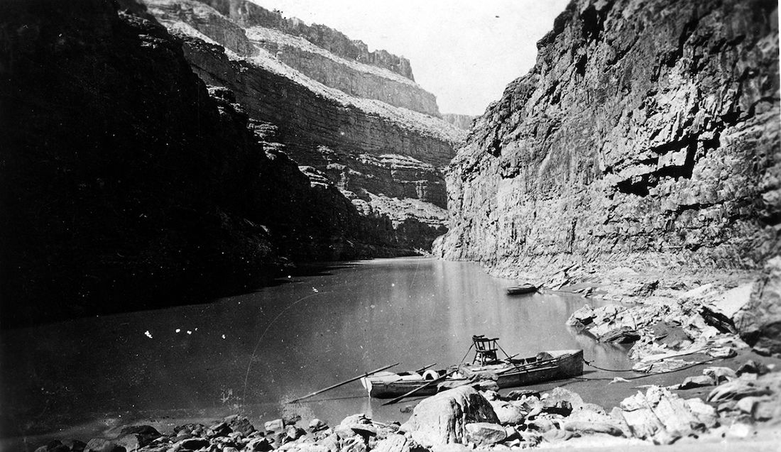 John Wesley Powell expedition reached confluence 150 years ago