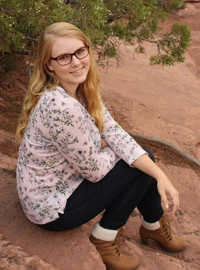 Student of the Week, Palisade High School senior Jessica Stouder