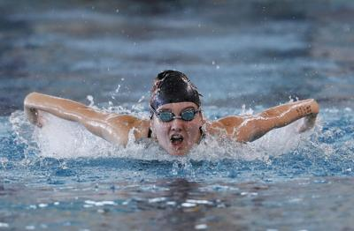 Tigers' depth leads to swim-meet victory