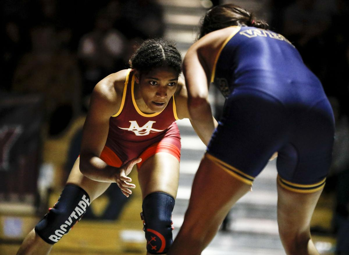 Brown Ton earns first win for women's wrestling