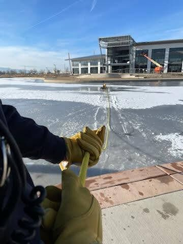 GJFD practices ice rescues