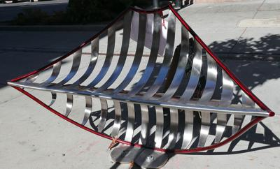 Behind the Sculpture: 'The Kissing Bench'