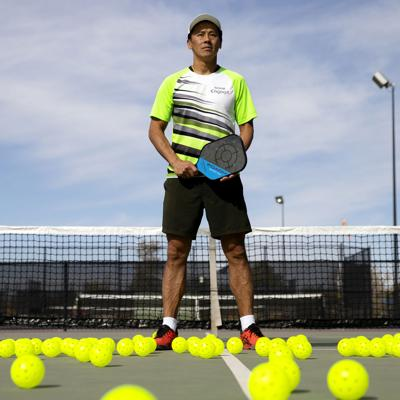 Pickleball pro becomes an ace in very short order