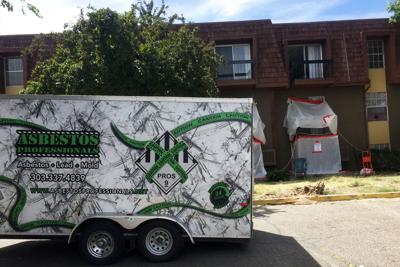 Residents unaware of asbestos spill