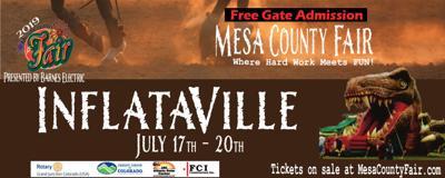 InflataVille at Mesa County Fair
