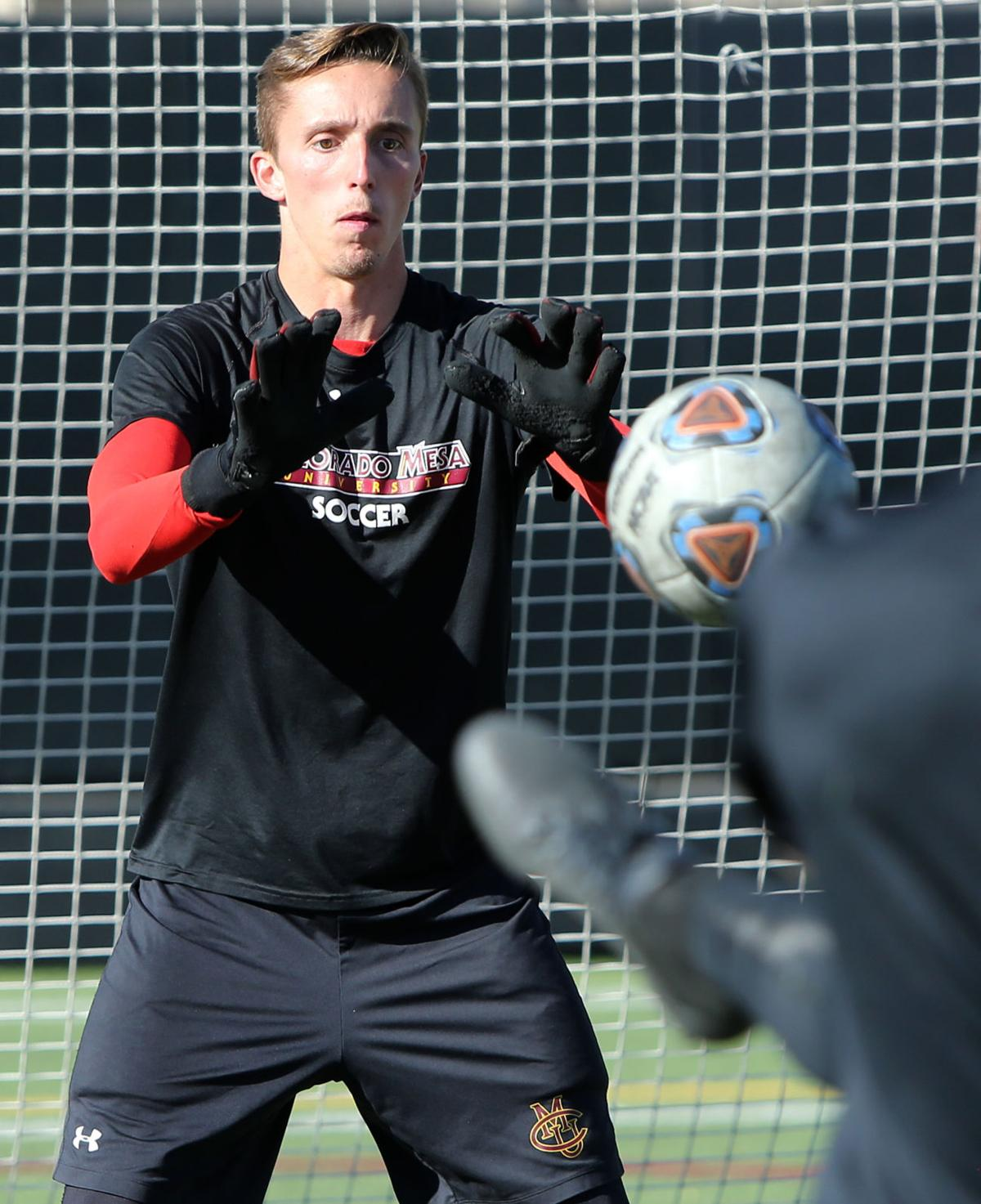 Goalkeeper from UK finally gets his opportunity at CMU