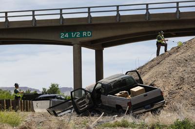 Nevada man badly hurt in I-70 crash   Western Colorado