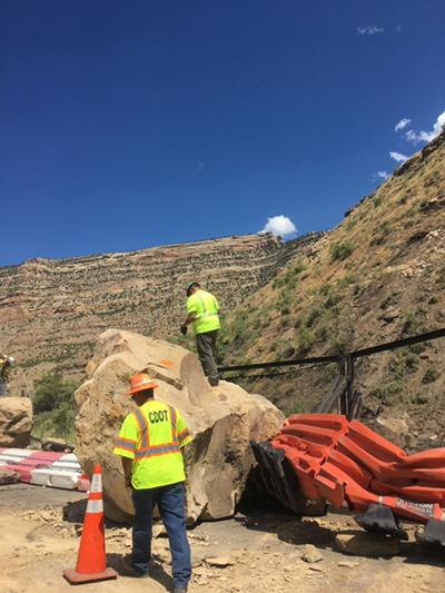 I-70 periodically closed for rockslide mitigation