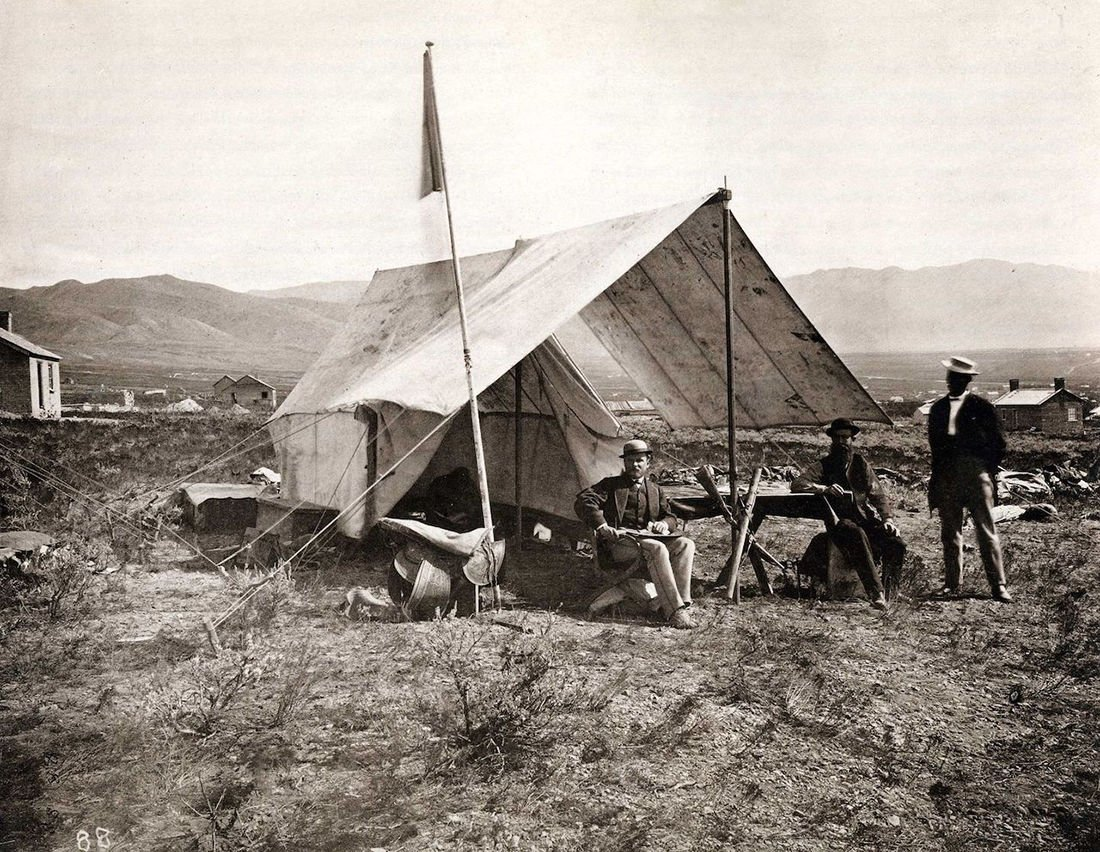 Image result for tents st george 1870s