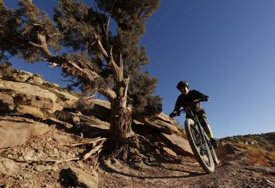 Outside magazine conducts bike tests in Grand Junction
