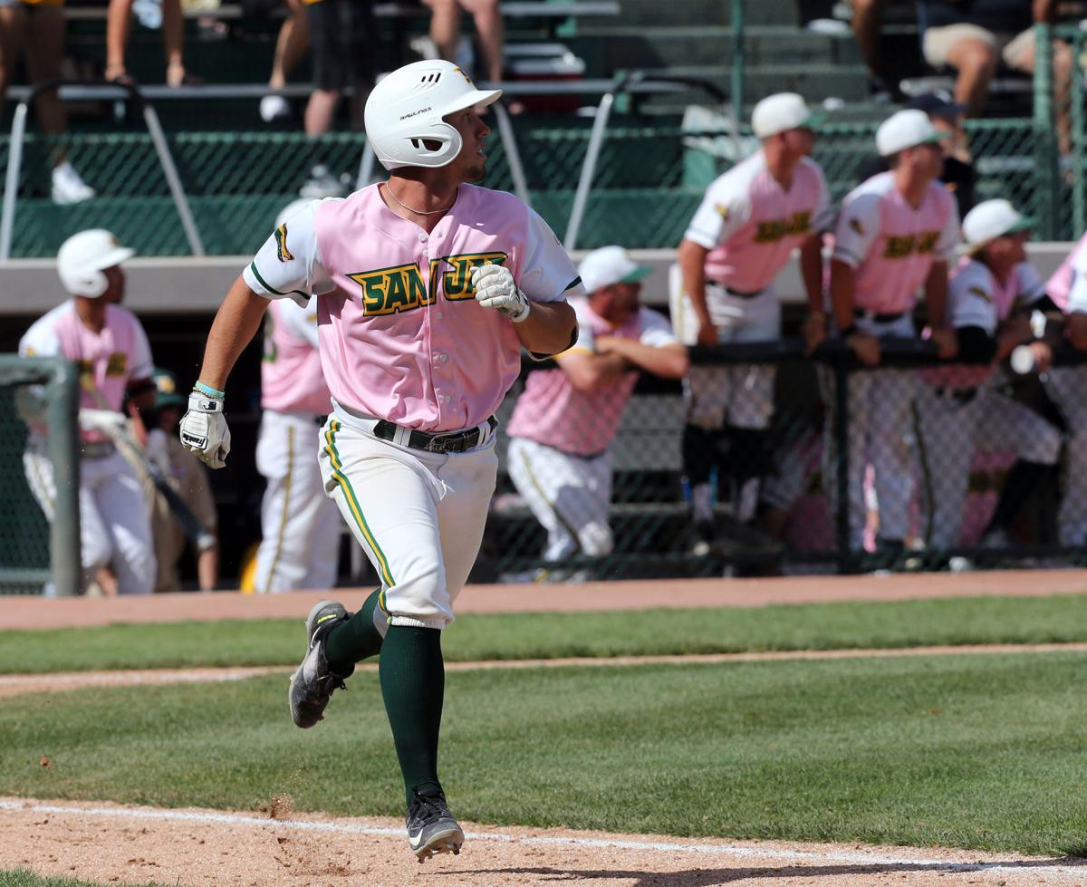 Timely hitting, solid relief pitching help San Jac rally