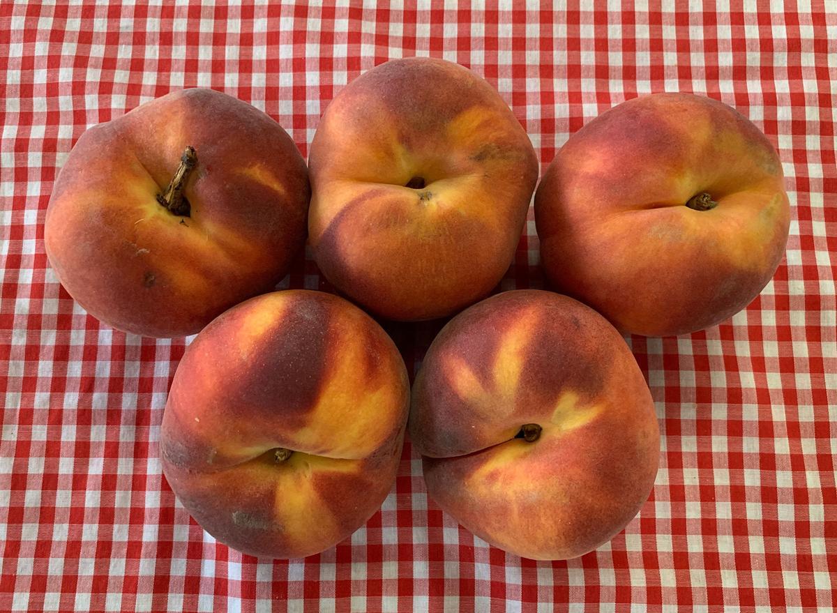 A peach pair
