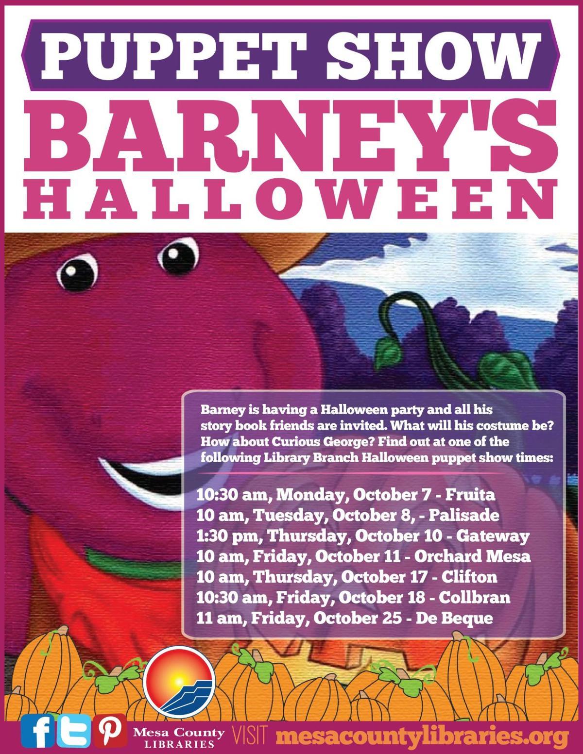 Barneys Halloween 2018