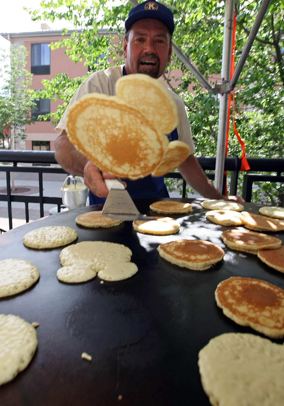 Kiwanis Pancake Day brings breakfast, kids fun together