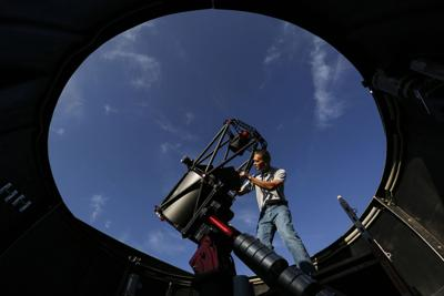Purdy Mesa telescope joins elite Air Force Falcon network