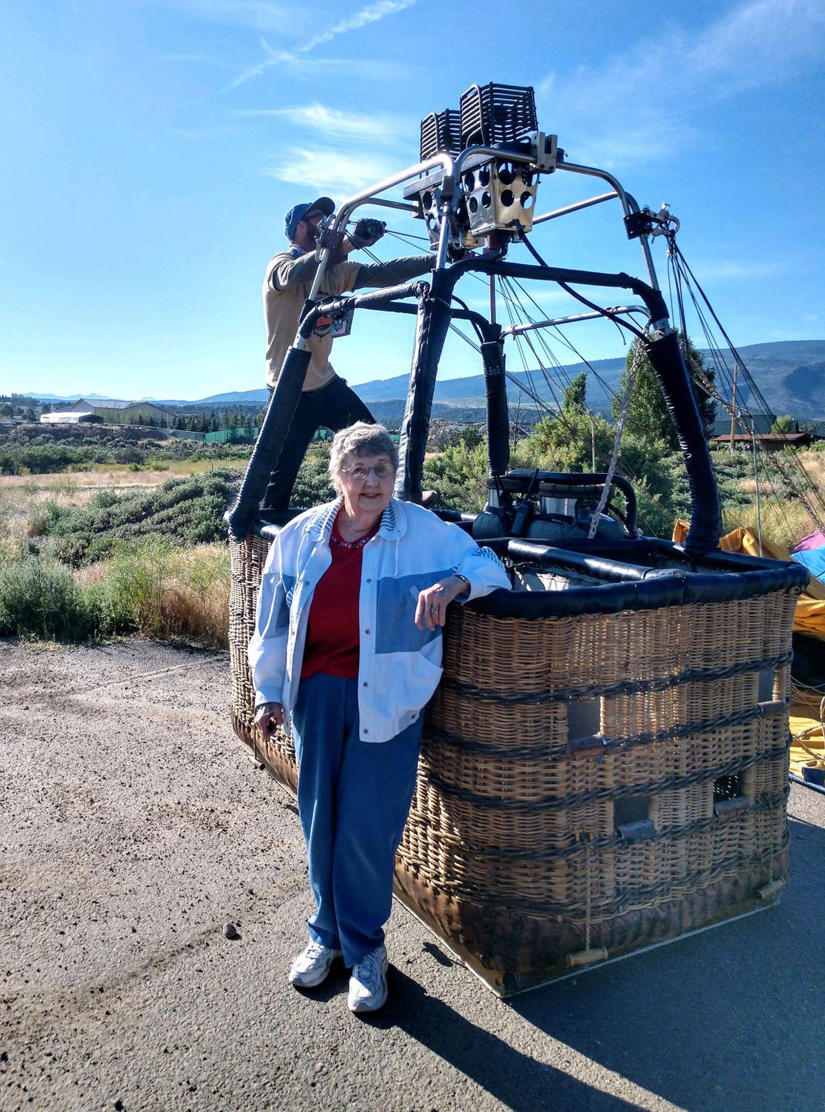 Grand Valley native honors grandfathers with balloon ride