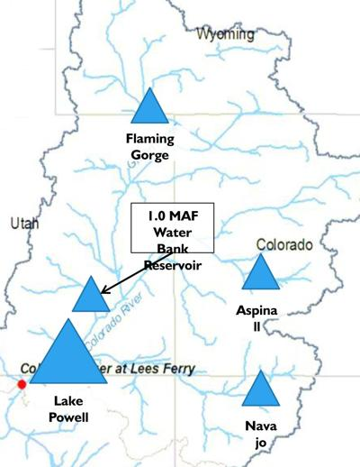 Grand Junction Co Zip Code Map.New Dam Merely A Figment Reservoir On Map Sparks Water Debate