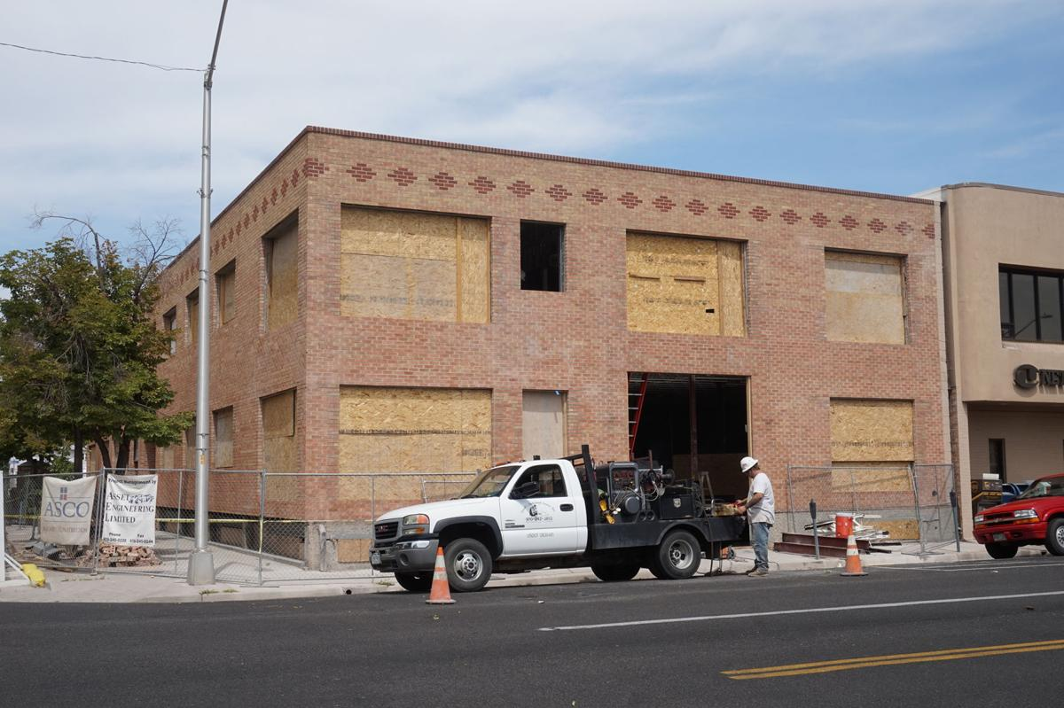 Redevelopment, remodeling and re-building old spaces