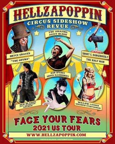 Hellzapoppin Circus Sideshow Revue