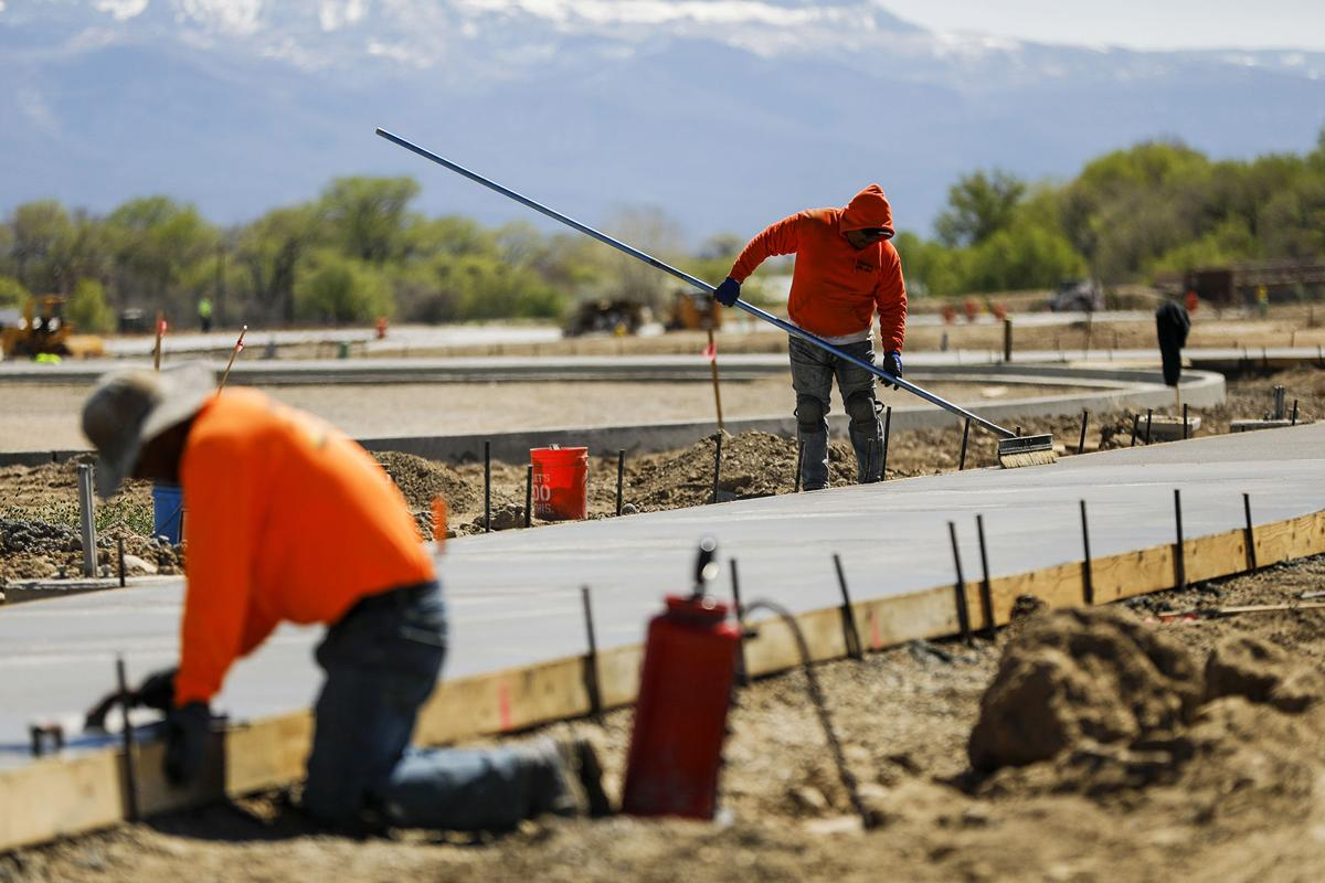 Progress swift at Las Colonias; landscaped park to open in June