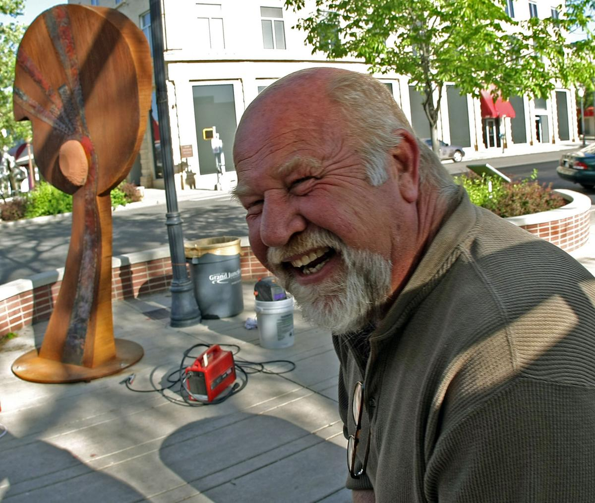 Hundreds of Dave Davis paintings, sculptures go on sale