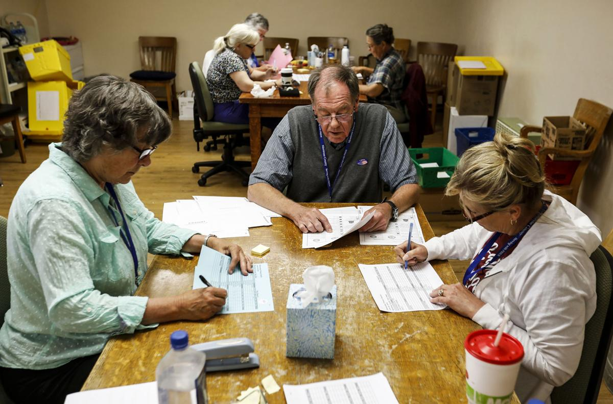 Printing mistake, old equipment force lengthy hand count of Montrose ballots