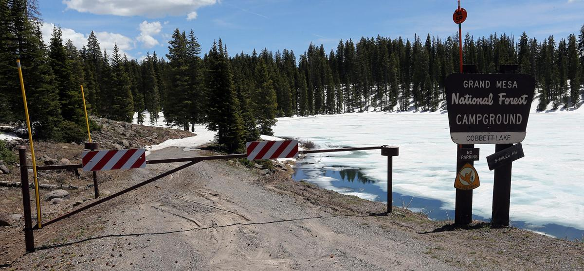 Winter lingers in high country even as summer approaches