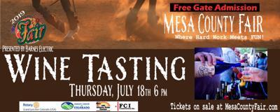 Wine Tasting at Mesa County Fair