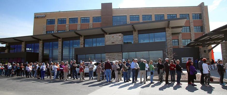 Community gets peek at new hospital