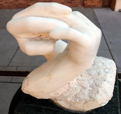 Behind the Sculpture: 'Now I Take Your Hand'