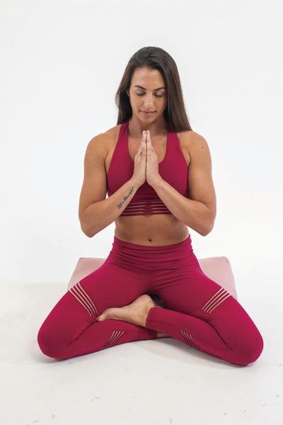 Summer yoga continues at Atkins-Johnson Farm