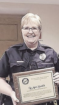 Gladstone officer receives lifetime achievement award