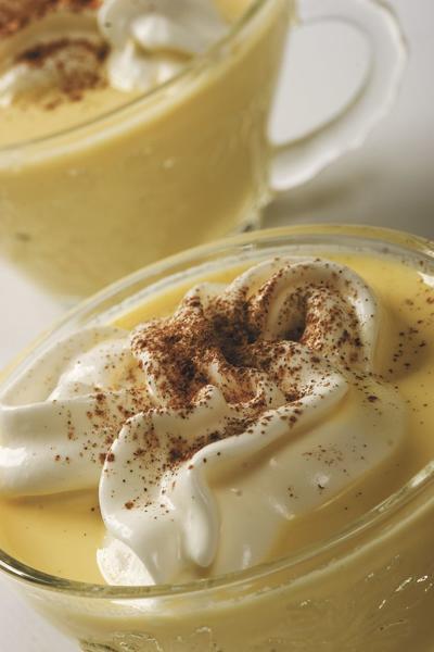 Healthier eggnog means limiting sugar