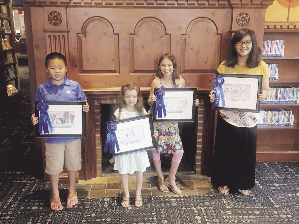 Four artists win at 15th Annual Northland Children's Drawing Contest