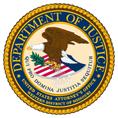 U.S.Dept. of Justice logo