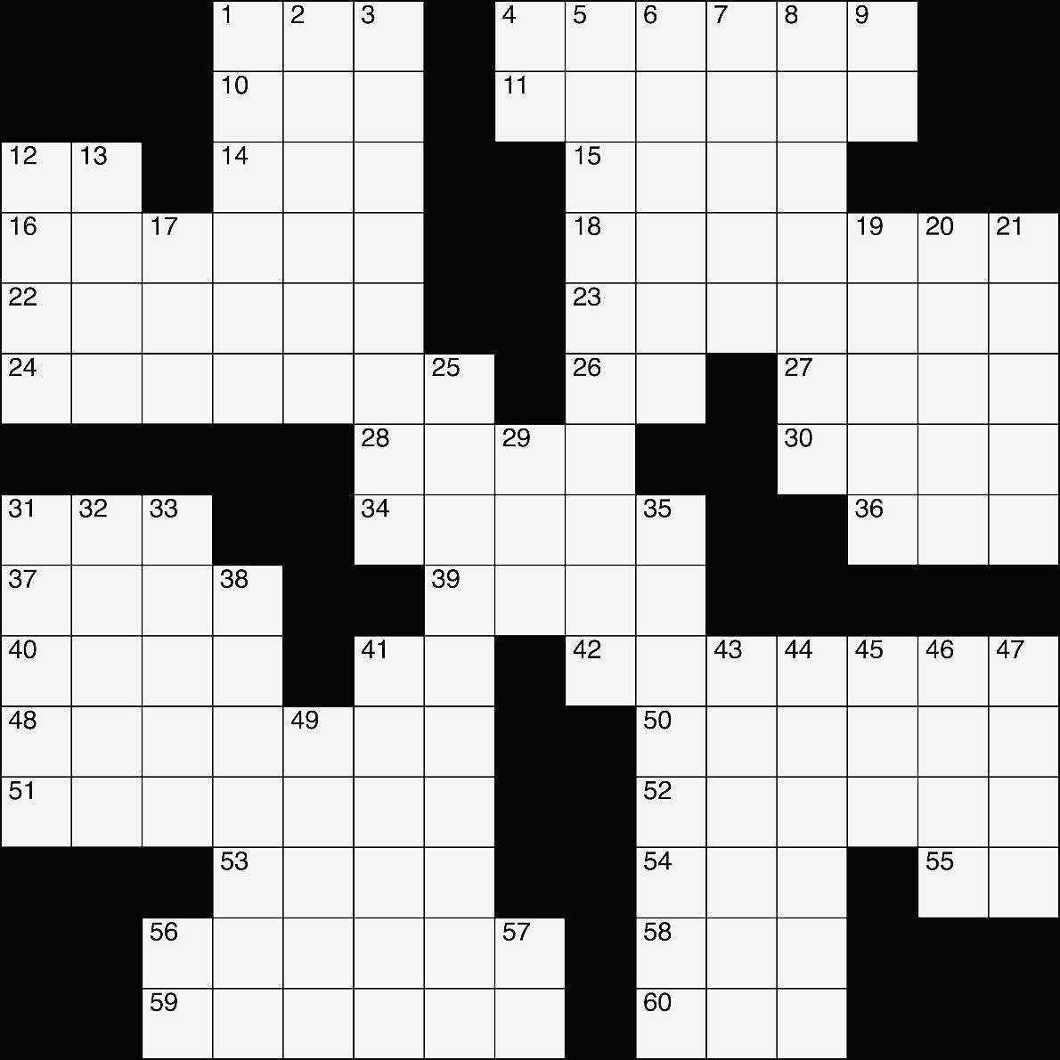 Crossword Feb 8 2018 Entertainment Gladstonedispatch