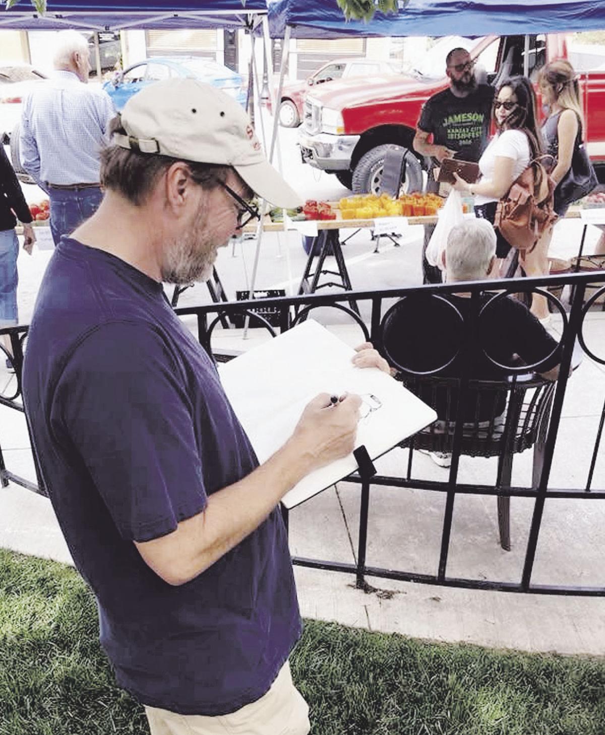Antioch art teacher covers international event