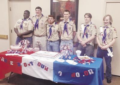 Six receive Eagle Scout rank
