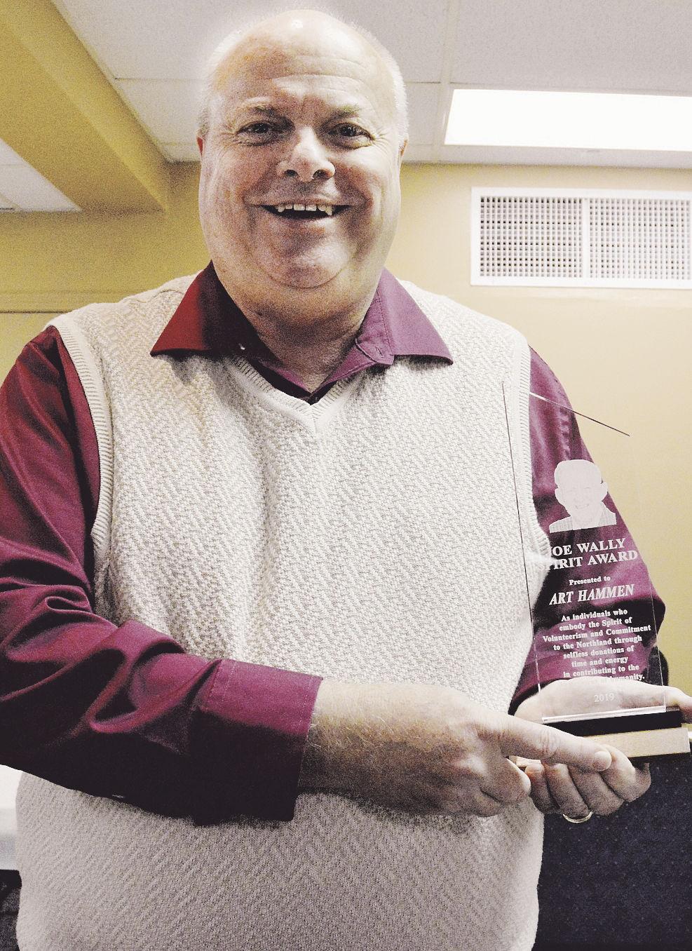 Former councilman receives Joe Wally Spirit Award