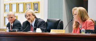 County commission executive session concerns commissioner, citizens