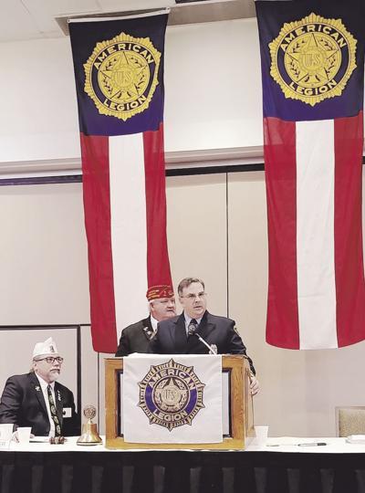 American Legion honors Gladstone firefighter