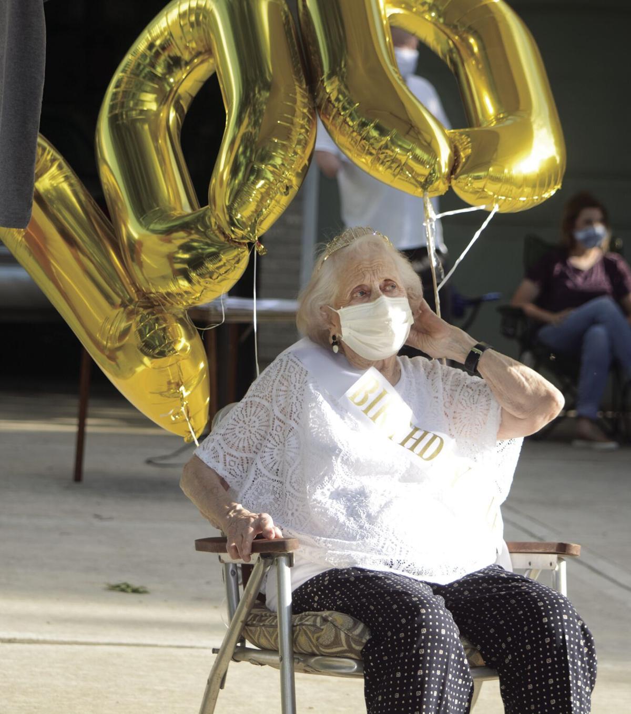 Gladstone resident marks century birthday