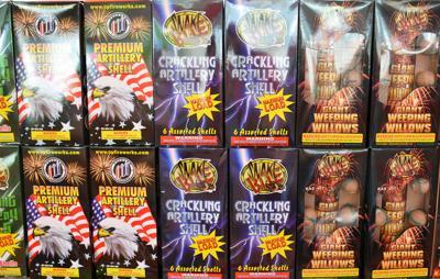 Gladstone restricts fireworks