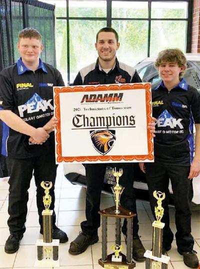 Senior 'Auto Hawks' win 2021 ADAMM Technicians of Tomorrow Competition