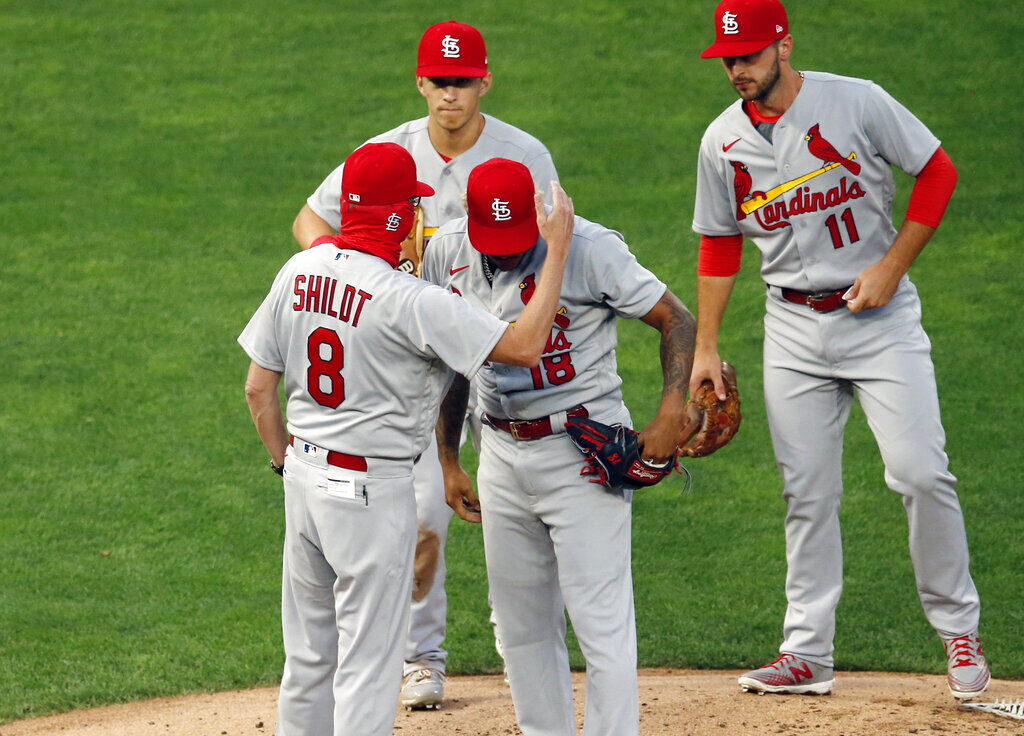AP source: Cards-Brewers off; 4 more St. Louis positives