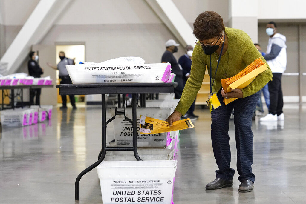 Election 2020 Recount Wisconsin