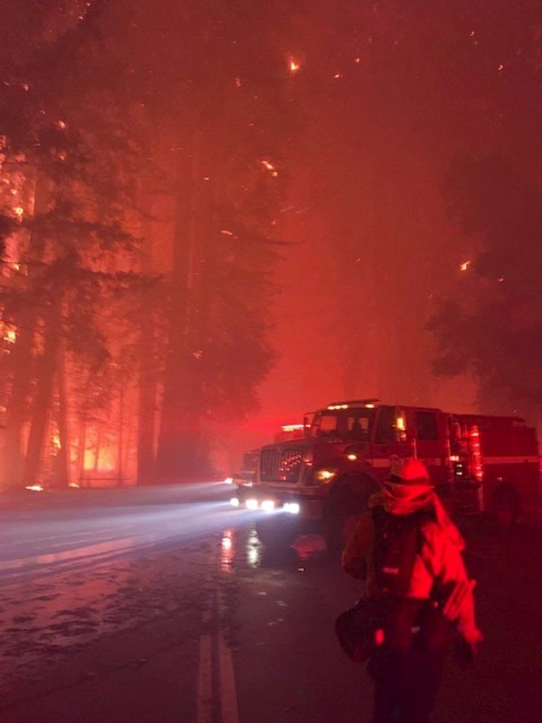 Western Wildfires-Exhausted Resources
