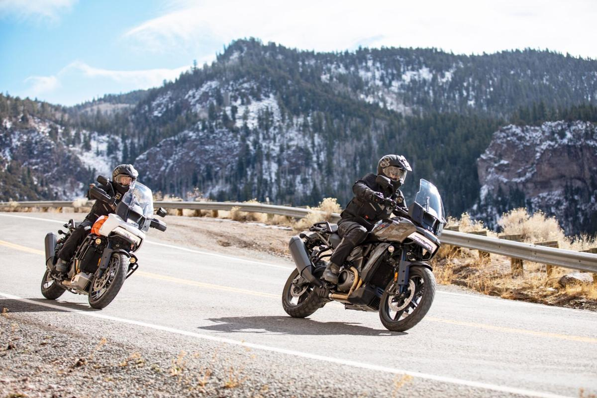 Harley-Davidson's newest bike built for on-and off-road riding - 1