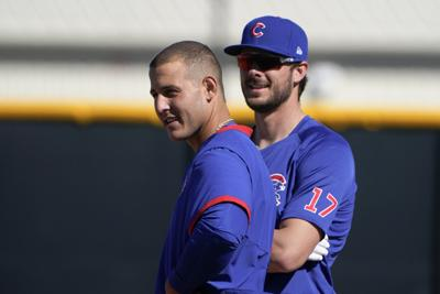 Cubs Spring Baseball - Anthony Rizzo