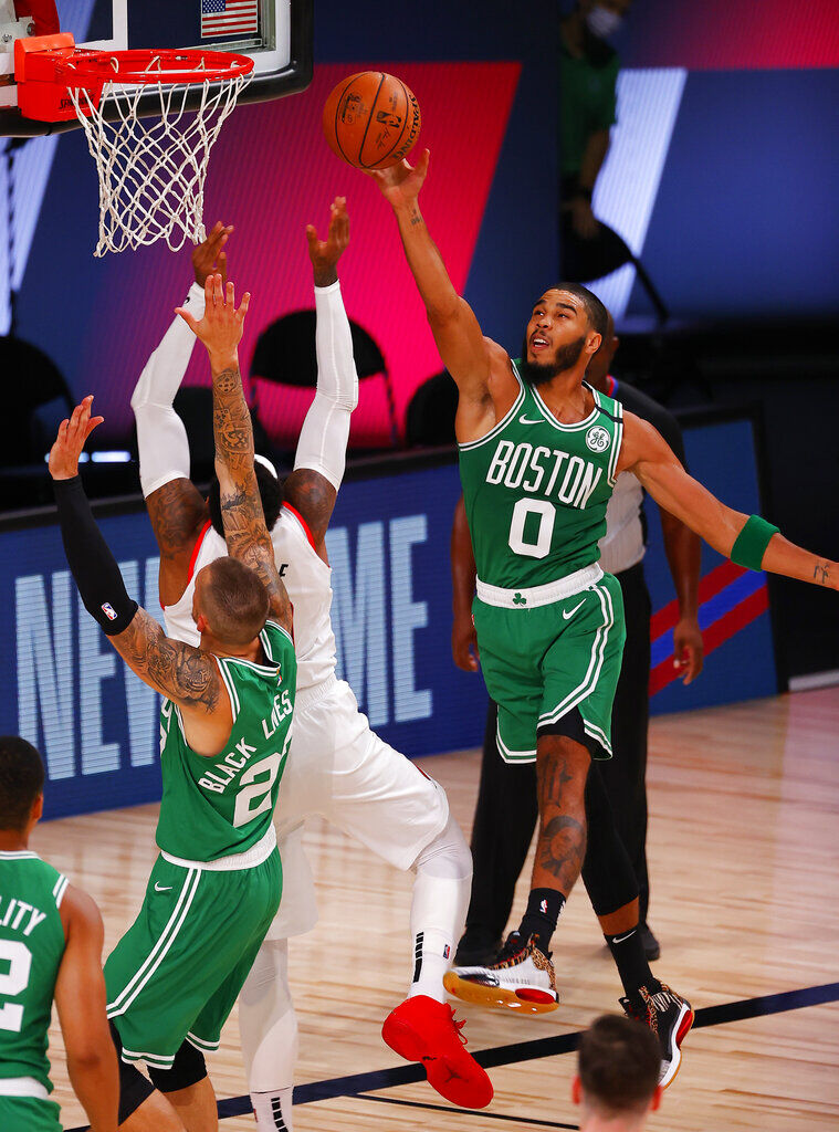 狂轟86+18+12!綠軍新三巨頭力克拓荒者,神仙打架拒絕24分大逆轉!(影)-黑特籃球-NBA新聞影音圖片分享社區